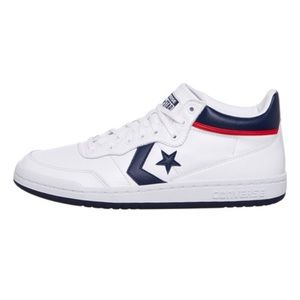converse shoes leather white